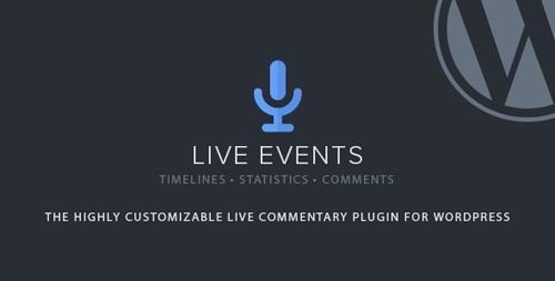 CodeCanyon - Live Events v1.23 - WordPress Plugin - 21364641