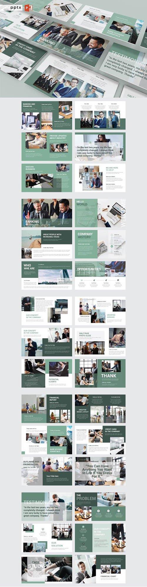 BANKING Presentation, Keynote and Google Slides Templates