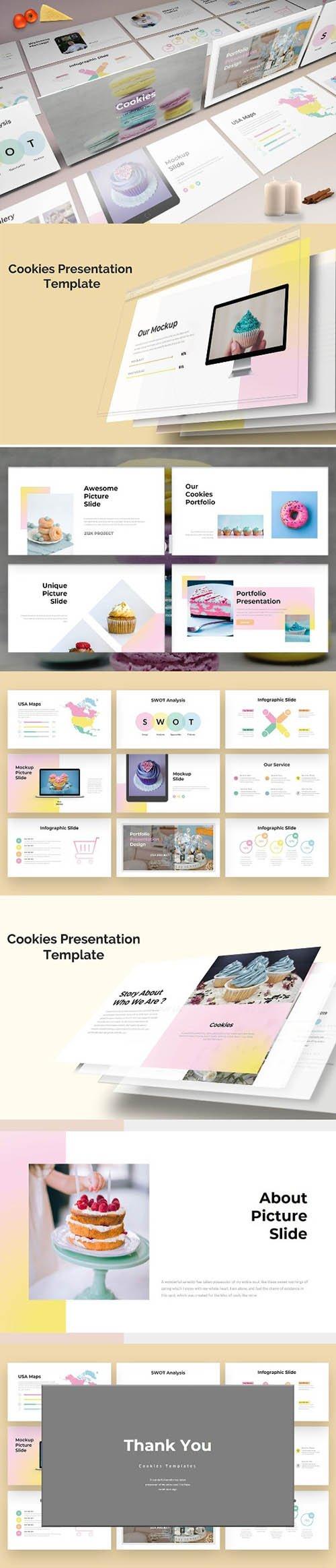 Cookies - Sweet PowerPoint , Keynote and Google Slides