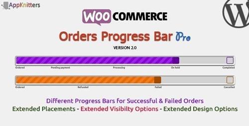 CodeCanyon - WooCommerce Orders Progress Bar - Pro v2.0.1 - 20612363