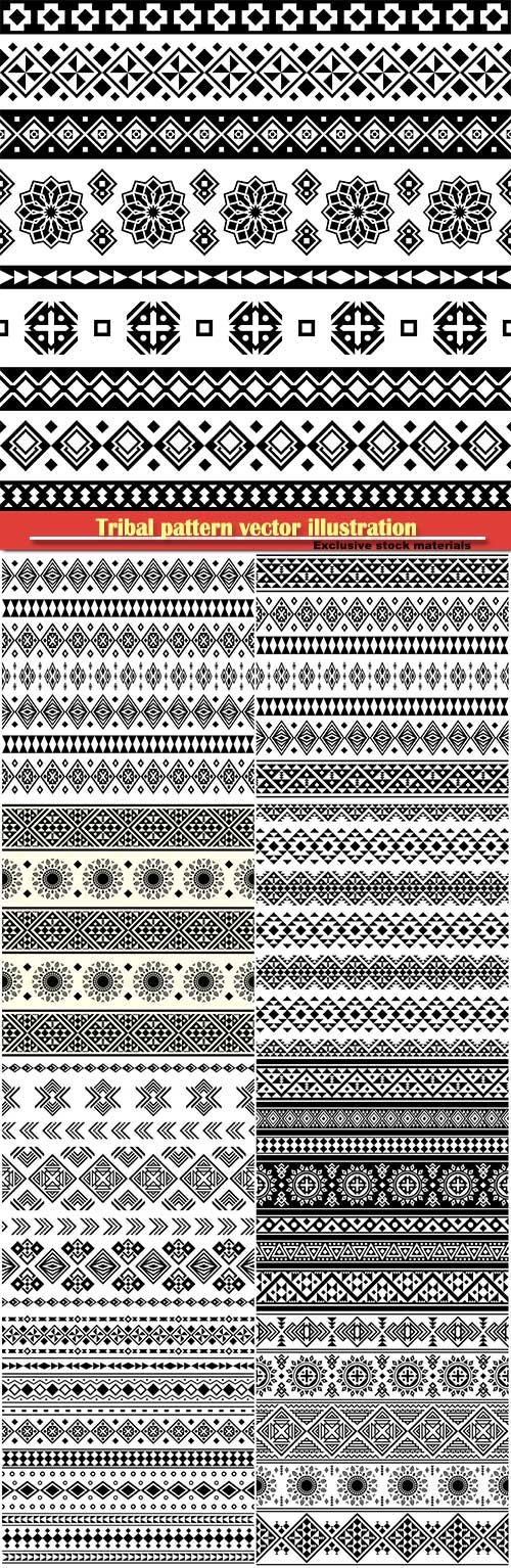 Tribal pattern vector illustration