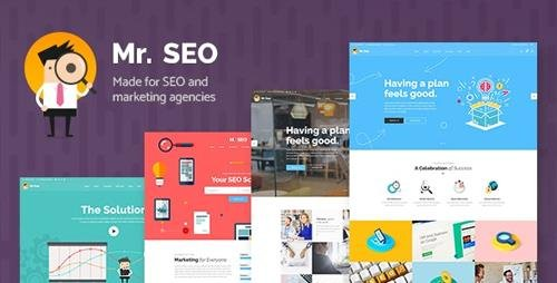 ThemeForest - Mr. SEO v1.7 - SEO, Marketing Agency and Social Media Theme - 19639484