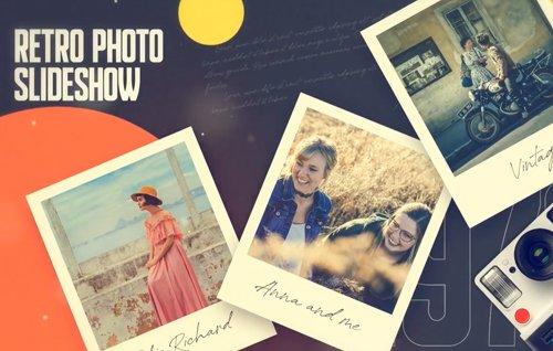 Retro Photo Slideshow 24535090