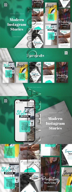 Instagram Stories Modern Pack