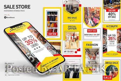 Sale Store - Instagram Stories Pack
