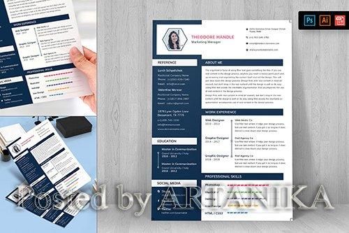 Resume CV Template-29