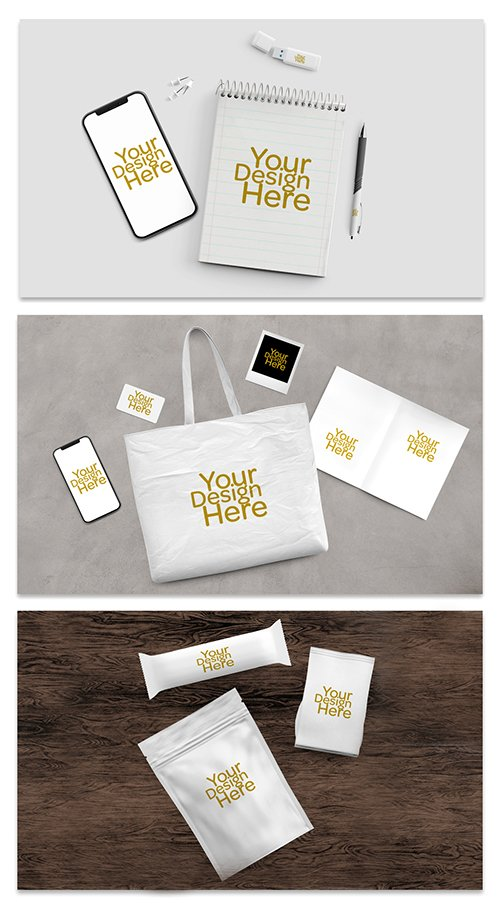 Business Collateral Merchandise Mockup Set 289167151 PSDT