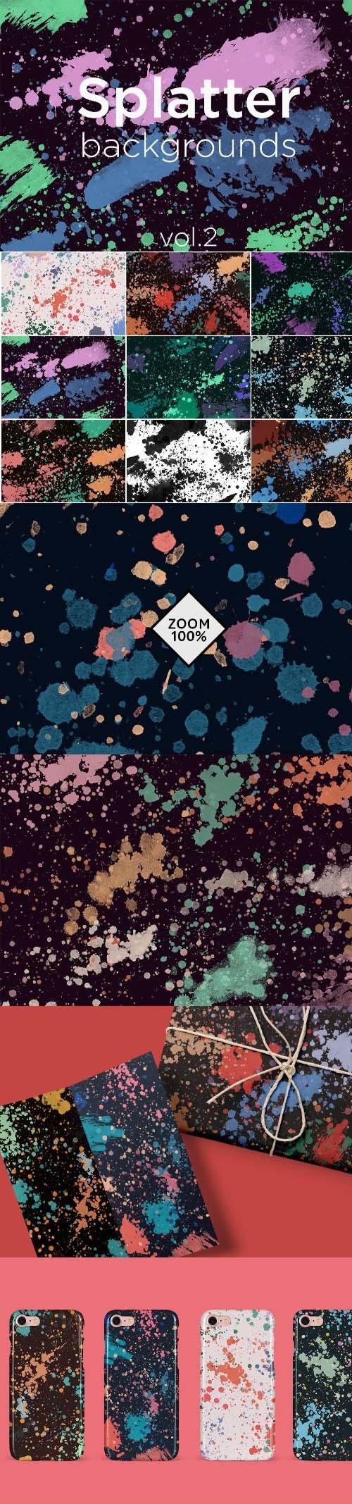 Splatter Backgrounds 2