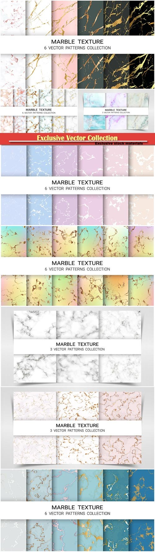 Marbles pattern vector illustration template