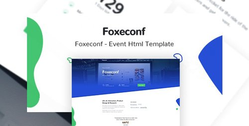 ThemeForest - Foxeconf v1.0 - Event HTML Template - 24630239