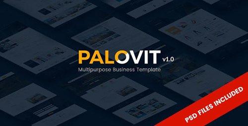 ThemeForest - Palovit v1.0 - Construction Company Corporate & Multipurpose Template - 19461253