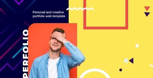 ThemeForest - Perfolio v1.0 - Resume & Personal Website HTML Template - 24623756