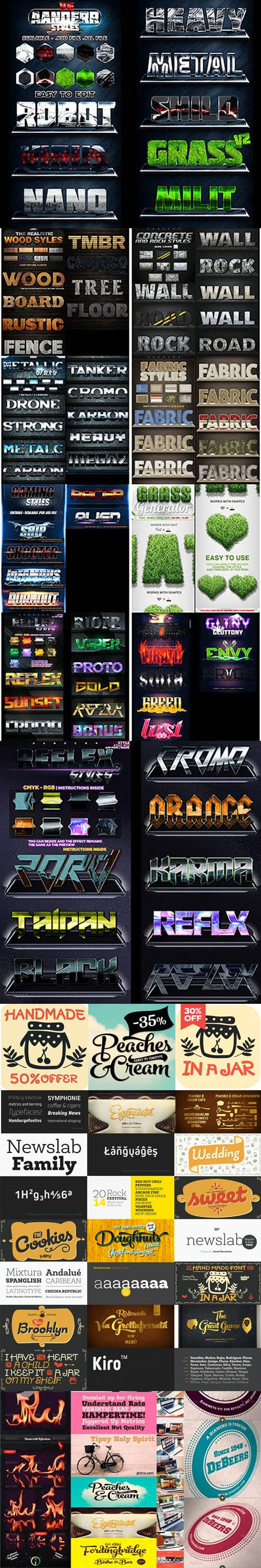 Graphicriver Collection - Photoshop Files + Fonts