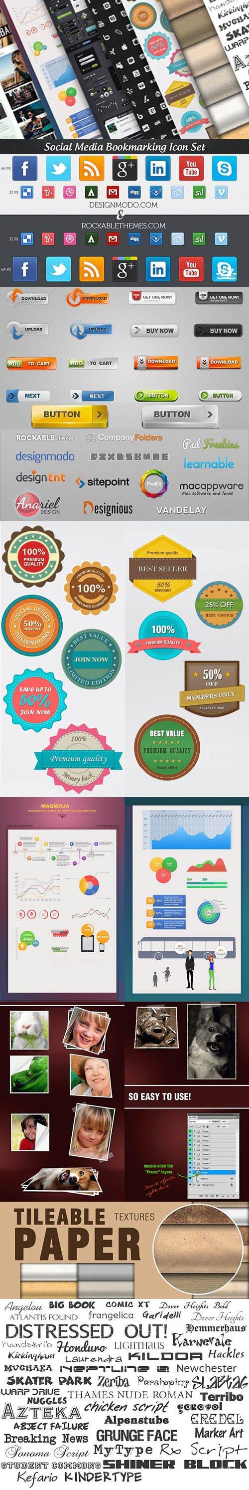 InkyDeals - Web Design Bundle: 471 Premium Design Resources
