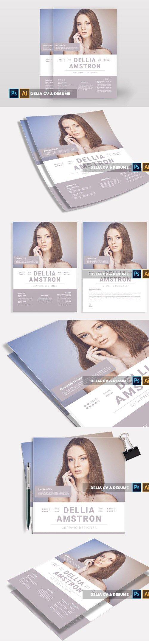 Delia | CV & Resume