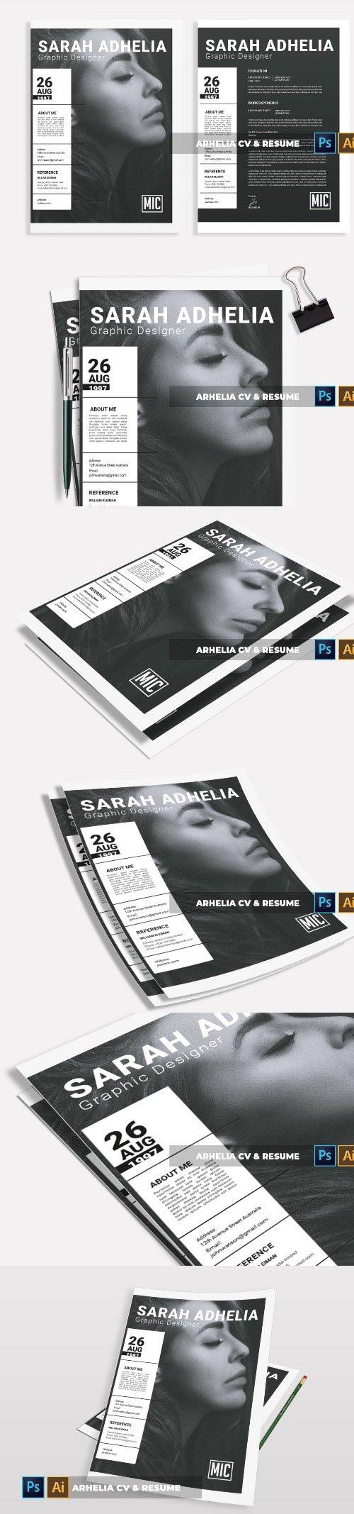 Arhelia | CV & Resume