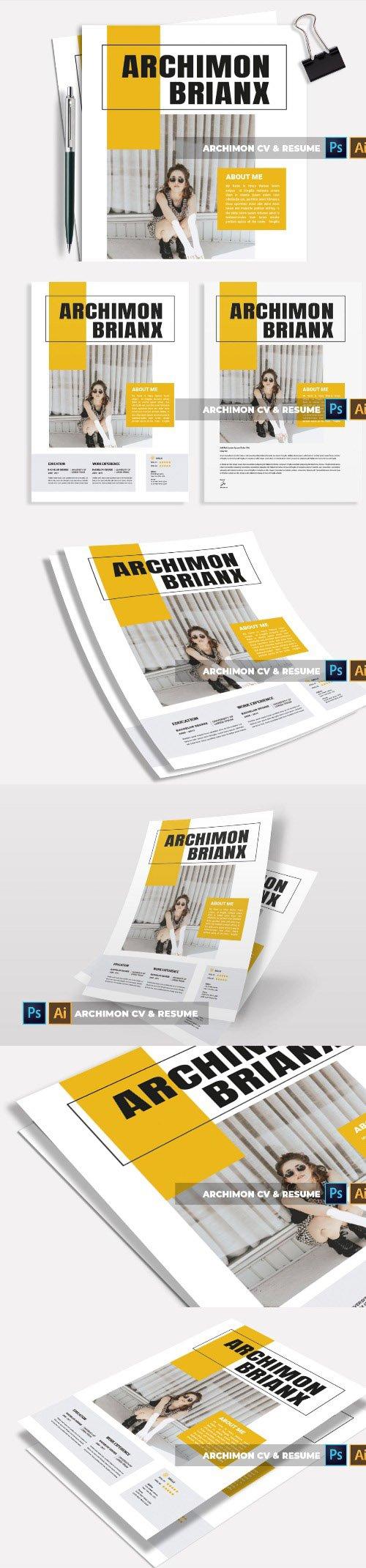 Archimon   CV & Resume