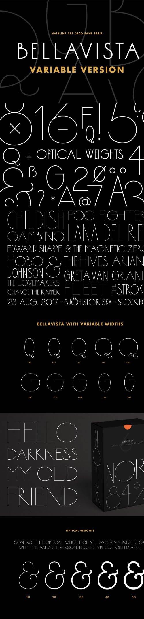 Bellavista Variable Font