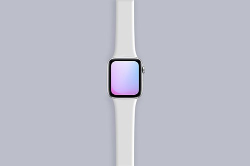 Apple Watch Series 5 Mockup PSD