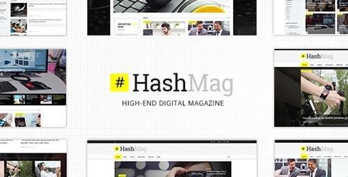 ThemeForest - HashMag v1.6.1 - Magazine & News Theme - 15695960