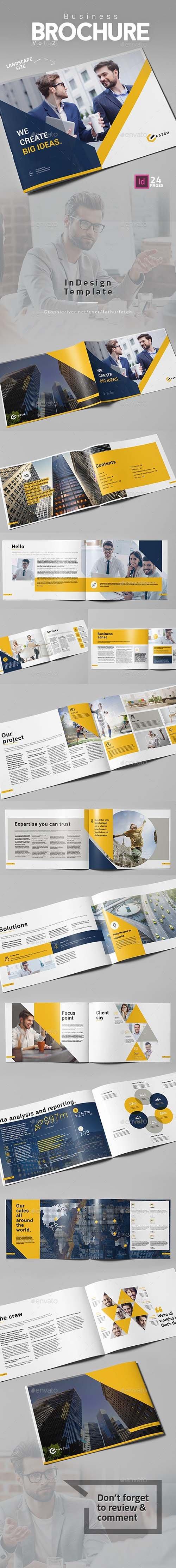Business Brochure Vol.2 Landscape 19977774