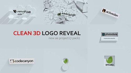 Clean 3d Logo Reveal 12920540