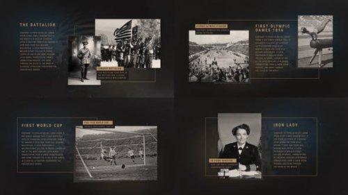 The History Presentation Premiere Pro 24594973