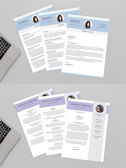 CV Specimen and Caliber Resume Designer Templates