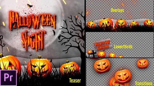 Halloween Teaser Promo Pack - Premiere Pro 24727580