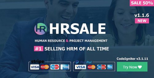 CodeCanyon - HRSALE v1.1.6 - The Ultimate HRM - 21665619