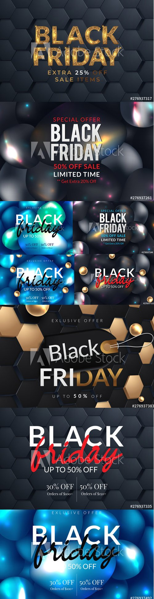 Black Friday Sale Poster and Banner