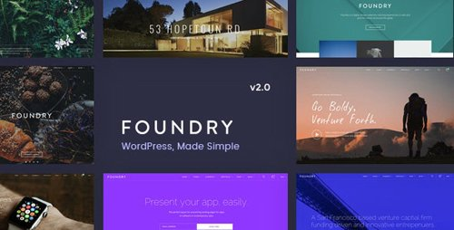 ThemeForest - Foundry v2.1.6 - Multipurpose, Multi-Concept WP Theme - 12468676