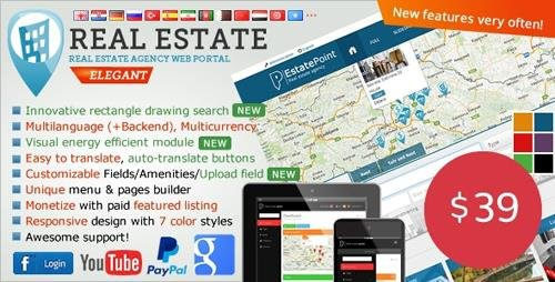 CodeCanyon - Real Estate Agency Portal v1.6.6 - 6539169 - NULLED