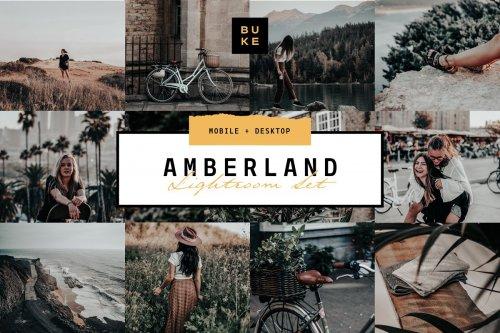 CreativeMarket - Amberland Edition Lightroom Preset 4112722