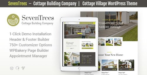 ThemeForest - SevenTrees v1.0.2 - Real Estate Property WordPress Theme - 23174384