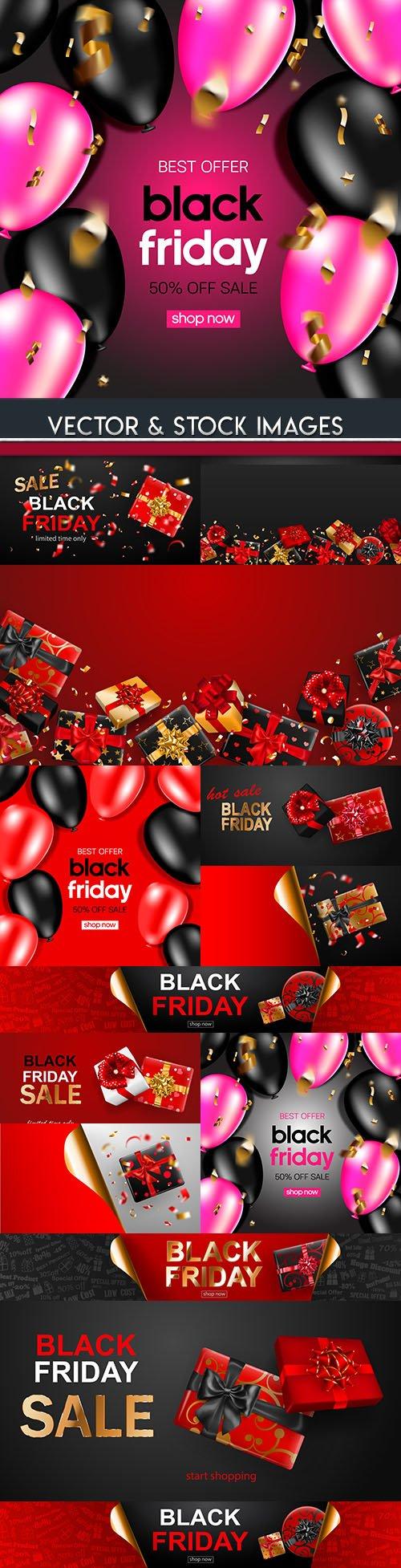 Black Friday and sale special design illustration 19