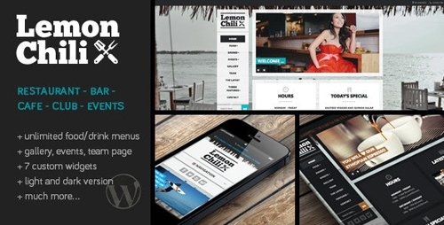 ThemeForest - LemonChili v4.01 - A Restaurant WordPress Theme - 4565068