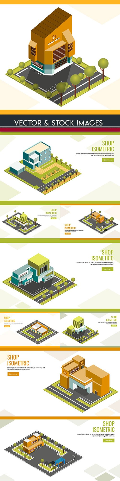 Isometrics business technology and people design 5