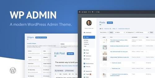 CodeCanyon - WP Admin Theme CD v1.9 - A clean and modern WordPress Admin Theme - 20354956 - NULLED