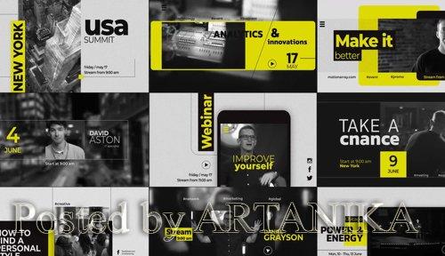 Event Promo // Typography Slides 226403