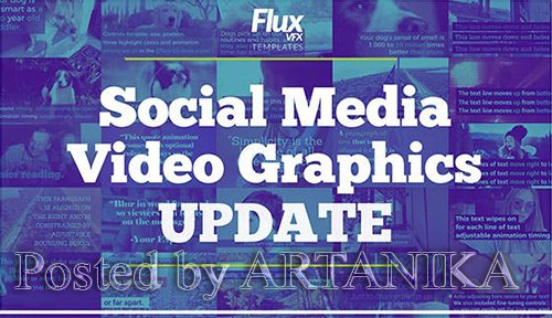 Social Media Video Graphics Pack 14683930