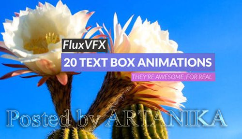 3D Text Box Animation Pack 9435784