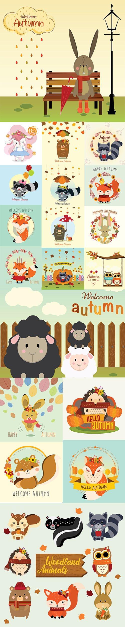 Hello Autumn Illustrations 5