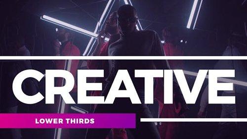 Creative Lower Thirds 21260864