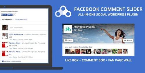 CodeCanyon - Comment Slider for Facebook v1.8.7 - WordPress Social plugin - 5166547