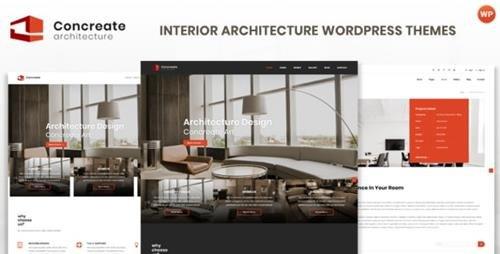 ThemeForest - Concreate v1.2 - Interior Architecture Interactive WordPress Theme - 23164915