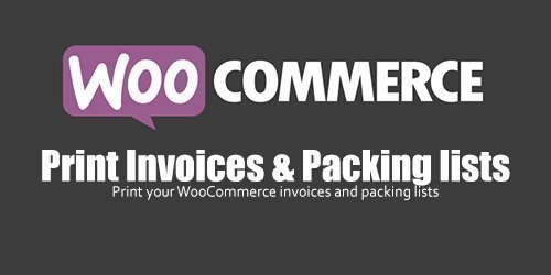 WooCommerce - Print Invoices & Packing lists v3.7.1