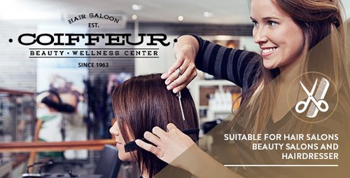 ThemeForest - Coiffeur v4.8 - Hair Salon WordPress Theme - 9306758