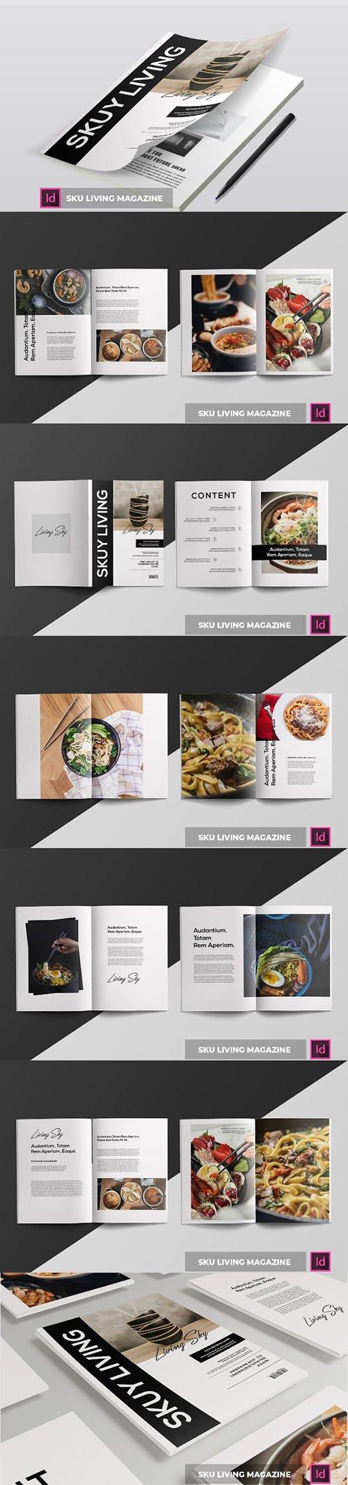 Sku Iiving ssss | Magazine Template