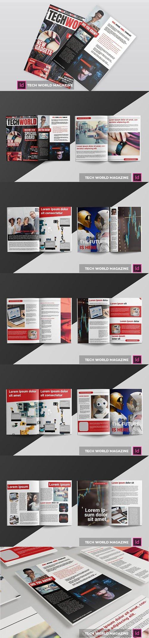 tech world | Magazine Template